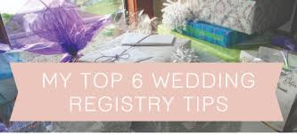 top wedding registry my top 6 wedding registry tips the hamby home