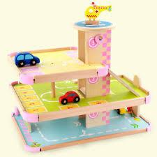 wooden toy garage ebay