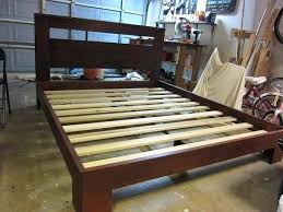 Make Bed Frame Bed Frames Study Bed 2 Diy Wood Bed Frame And
