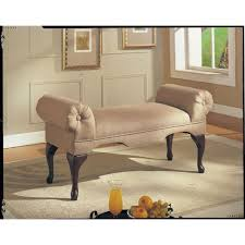 upholstered bench seat bed room living foyer hall way entry