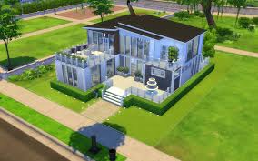 modern house building sims 4 modern house build album on imgur
