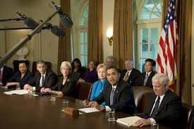 Us Cabinet Secretary Hillary Clinton In President Obama Meets With His Cabinet Zimbio