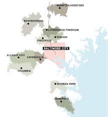 Baltimore County Zip Code Map by Best Of The U0027burbs