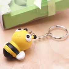 baby keychain bumblebee baby shower keychain favor baby shower favors baby