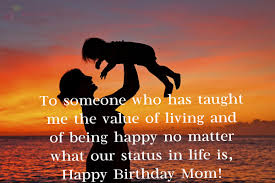 Love Is Unconditional Quote by Happy Birthday Wishes For Mother From Daughter Son With Images