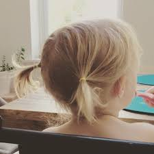 toddler hair 5 steps to the toddler pigtails today