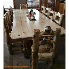 rustic log dining room tables aspen lodge log dining table aspen logs and living rooms