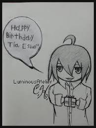 Sketch Birthday Card Sketch Birthday Card Doodle By Luminousatelier On Deviantart