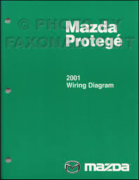 2001 mazda protege repair shop manual original