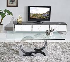 glass table for living room channel designer glass coffee table living room furniture ebay