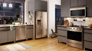 what color appliances look best with cabinets chagne is the new kitchen appliance trend of 2020 reviewed