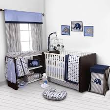 bacati elephants 10 piece nursery in a bag crib bedding set with