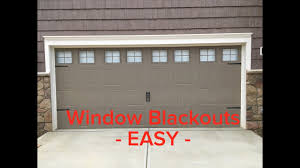 cheap diy garage window blackout so people can u0027t see in youtube
