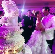 maksim chmerkovskiy and peta murgatroyd u0027s wedding cake details