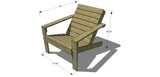 Adirondack Deck Chair Outdoor Wood Plans Download by Patio Chairs Plans Patio Decoration