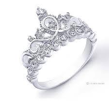 sterling silver engagement rings walmart guliette verona rhodium plated sterling silver princess crown ring