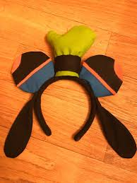 goofy mickey ears goofy disney ears hanging ears custom
