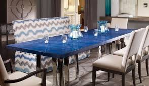 blue dining room furniture endearing dining table navy blue painted round room at cozynest home
