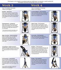 30 day teeter inversion program stretch it out pinterest