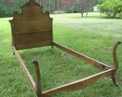 wood bed etsy