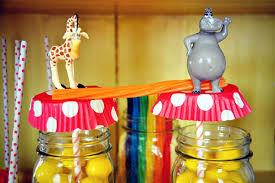 Circus Birthday Decorations Circus Inspired Madagascar Theme Party Ideas Hostess With The