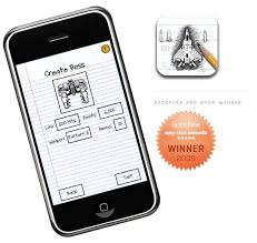 sketch nation shooter allows you to design your own iphone game