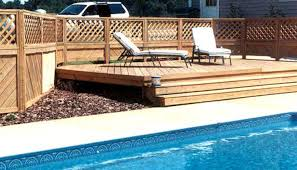 fence above ground pool kits awesome best pool fence building