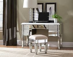 image of desk mirrored vanity table vanities pinterest