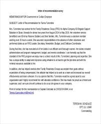 letter of recommendation sample 10 free documents in word pdf