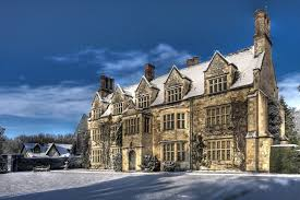 Winter Houses Snow Abbey Anglesey Building England Winter House Home Free