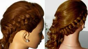 side french braid with curls video dailymotion