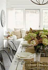 autumn sunroom at bluestone hill dear lillie studio