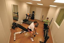 Ideas For Finished Basement with Home Gym Ideas Designing A Home Gym In Your Finished Basement