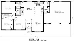 very attractive design brick house open floor plan 12 chalet plans