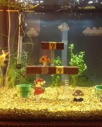 mario bros aquarium diy project is one you ll definitely