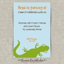printable reptiles birthday invitation invitations pinterest