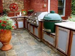 Kitchen L Shaped Island Outdoor Kitchen L Shaped Island With Stainless Grill And Big