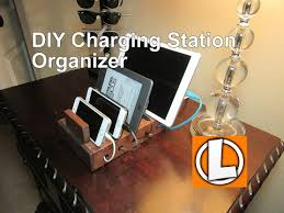 build a charging station diy 7 00 charging station organizer for your smart phones