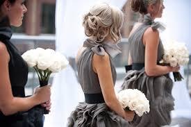 vera wang bridesmaid dresses 11 vera wang grey black bridesmaid dresses i do