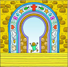 image enter gates with thanksgiving psalms clip christart