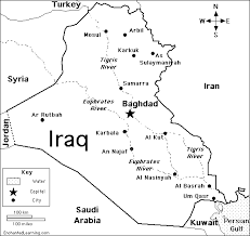 asia map coloring page iraq enchantedlearning com
