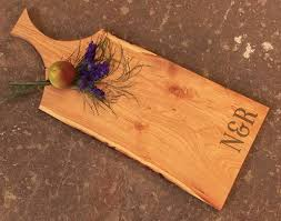 personalized cheese board personalized cheese board cherry cutting board with handle