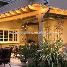 led edison string lights led outdoor commercial string lights ul 48 feet 15 sockets 2w led