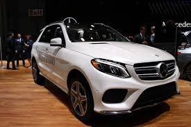 mercedes size suv 2016 mercedes gle debuts in york city