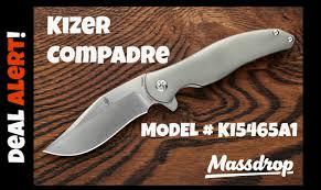 Aesthetic Knives Deal Alert 116 Kizer Compadre Knife Ki5465a1 Youtube