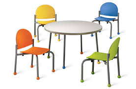 Children S Chair And Table Pediatric Office Furniture Com Sells The Colorful Bola Children U0027s