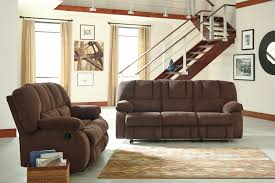 buy ashley furniture roan cocoa reclining living room set