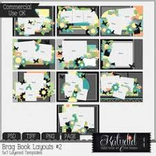 5x7 brag book brag book layered templates pack no 1 template scrap and drop