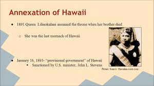 how hawaii become a state of u s