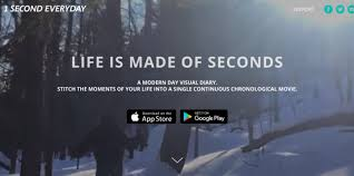 film one second a day app this kickstarter darling stitches your life into a modern day